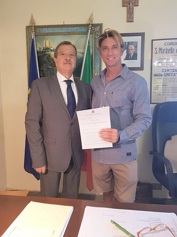Una delega per la promozione del Surf a Marcianò