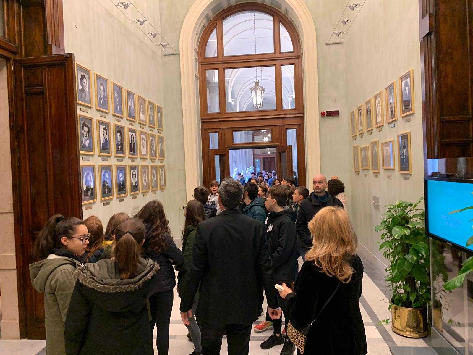Scuole amiche Unicef visitano la Camera dei Deputati