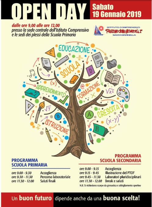 Scuole: arriva l'open day all'Istituto comprensivo Piazzale della Gioventù 1