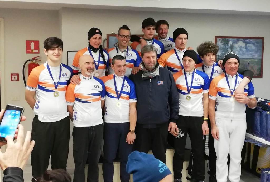 Mtb Santa Marinella: a Mariuzzo la prima vittoria in mtb dell'anno 2019, Tulin e Ciancarini campioni regionali CSI Lazio