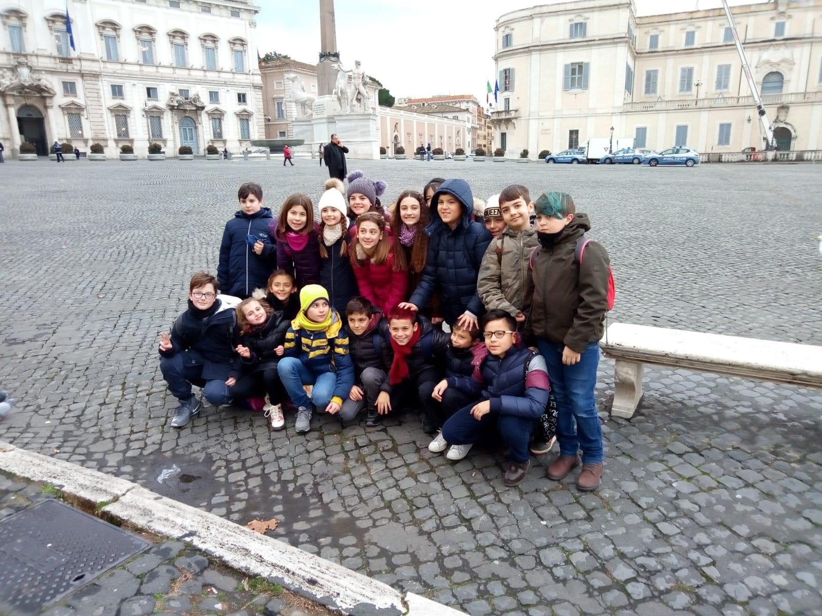 Studenti della 5b Pirgus al Quirinale per ricordare la giornata della memoria