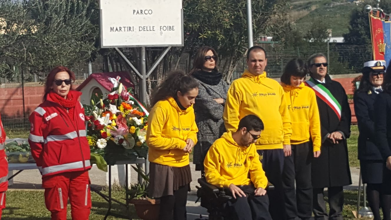 Santa Marinella: cerimonia al Parco Martiri delle Foibe