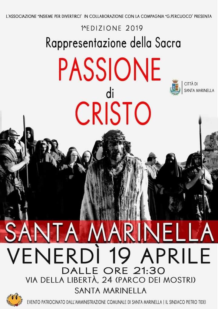 Passione di Cristo: Santa Marinella si prepara per il ritorno della storica rappresentazione