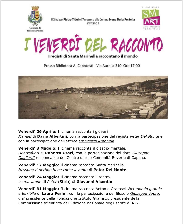 Ciclo venerdi del racconto: in biblioteca con il regista Dario Albertini