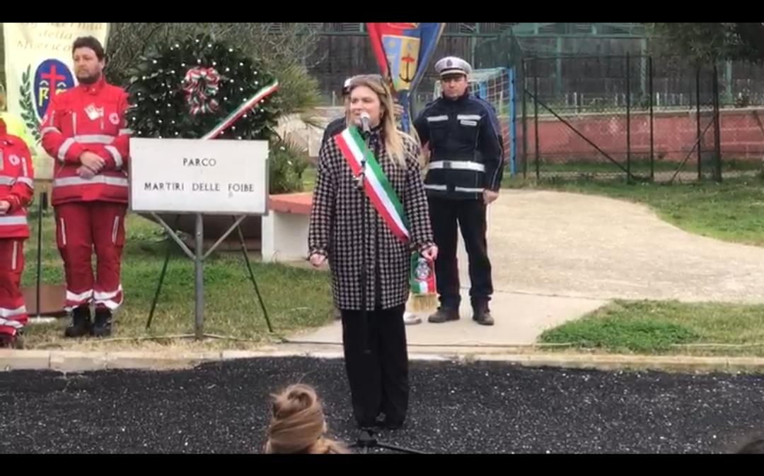Giorno del ricordo – Assessore Gaetani agli alunni: se vi sentite cittadini liberi è perché altri hanno lottato per la libertà.