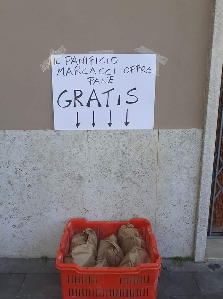 Emergenza Santa Marinella: i panifici lasciano ceste gratuite