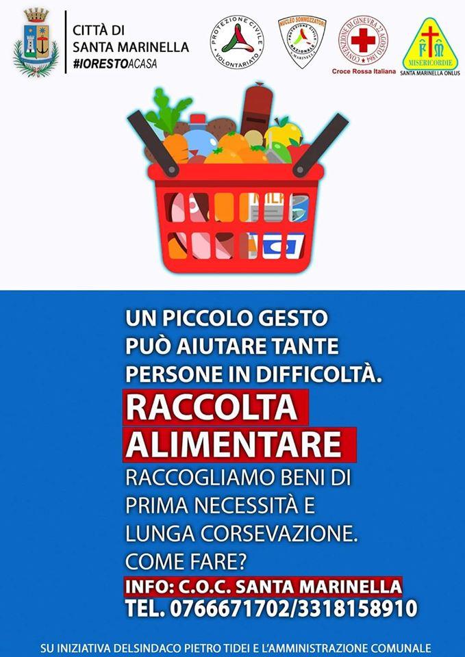 Aiuti Santa Marinella – Minghella: il comune sostiene la raccolta alimentare.